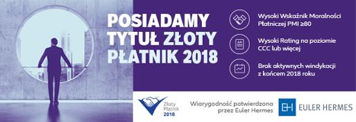 Tytul Zloty Płatnk 2018